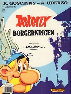 ASTERIX ALBUM 25 - BORGERKRIGEN - Goscinny / Uderzo (NORWAY1992)