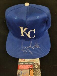 George Brett Signed Kansas City Royals Hat JSA Authenticated Auto HOF