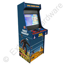 "BitCade 2 Player 27"" LCD Space Invaders Upright Arcade Machine Cabinet JAMMA"