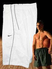 Nuovo Nike da Uomo Annuncio Athletic Dept Palestra Sportive Shorts Bianco M