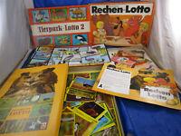 3 Bilder/Begriffe-Lotto Tierpark Vögel Filme DDR-Spiel Spika/Plasticart OVP
