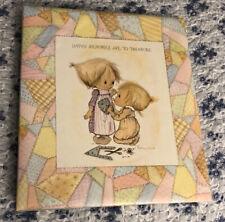 Vintage Hallmark Betsey Clark Scrapbook Album 1972 Memory Book 39 Unused Pages