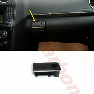For Benz M GL 2006-2011 Black ABS Right Glove Boxes Switch w/o Lock Cylinder
