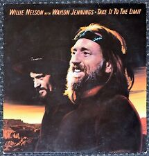 33t Willie Nelson with Waylon Jennings - Take it to the limit (LP) - 1983