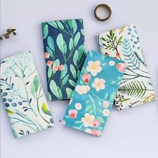 """""""Green Hope"""" 1pc Planner Agenda Notebook Study Diary Travel Journal PU Leather"""