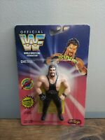 Vintage 1994 Just Toys WWF Bend-Ems Series 1 Diesel MOC Sealed New