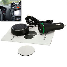 Car Mini Bluetooth Phone HandFree Adapter 3.5mm AUX Audio Receiver Magnetic Base