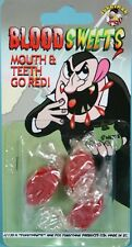 Blood Sweets - Mouth & Teeth Go Red!!  - Practical Jokes & Pranks : New Sealed