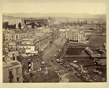 Photo Albuminé Napoli Naples Italie Vers 1870/80 # 2