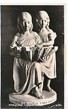 Wales Postcard - The Font - Bodelwyddan [Marble] Church - Real Photograph  Z350