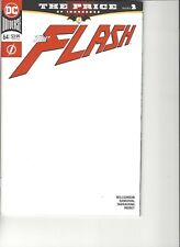 FLASH #64 BLANK VARIANT COVER BY DC COMICS
