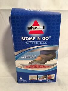 Bissell Stomp 'N Go Stain Lifting Pads NIB NRFB NEW