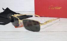 Cartier Glasses Rimless Gold 55mm Vintage Frame