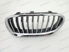 Chrome Front Grill Grille Left LH For BMW 5-Series F10 F18 2014-2015