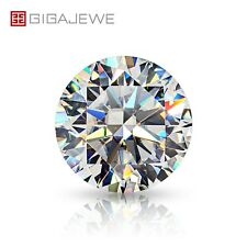 White D Color Best Hand Made Round Cut Moissanite Stone Loose With Certificate