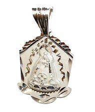 Caridad del Cobre y los Tres Juanes .925 Sterling Silver Pendant Medal