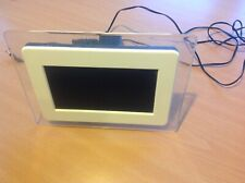 6inch USB/SD Digital Photo Frame - White pre-owned AAE