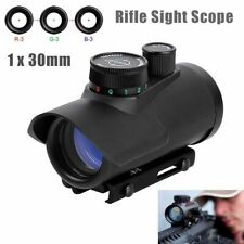 Tactical Red Green Blue Dot Laser Sight Holographic Scope Weaver Picatinny Rail