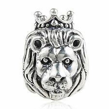 LION KING JUNGLE Genuine 925 Sterling Silver Charm Bead Fits European Bracelet