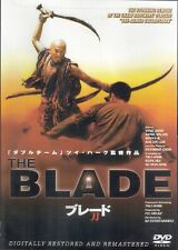 """The Blade DVD Tsui Hark remake """"One-Armed Swordsman"""" Wing Zhao RARE Movie"""