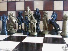 Brand New ♚  Medieval Design Chess Pieces Set ♞