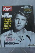 paris match 2371 du 3 novembre 1994 burt lancaster john travolta higelin moor