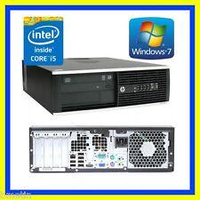 HP PC INTEL CORE i5 2400 QUAD CORE 3.1GHZ 8GB 250GB DVDRW WIN 7 PRO 64 OFFICE
