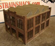HO Scale Building Walthers Car Shop Building Built Weathered