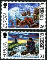 GUERNSEY 1997 EUROPA TALES & LEGENDS SET OF BOTH COMMEMORATIVE STAMPS MNH