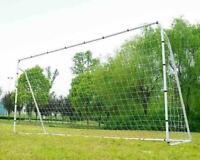 Soccer Goal 12' x 6' Football W/Net Clips, Anchor Ball Training Sets sports New