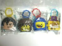 4 x Toys McDonald's Russia Happy Meal 2019 The Lego Movie 2: The Second Part NEW
