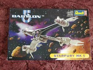 Babylon 5 Starfury MK1 Model Kit by Revell boxed
