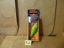 Rattlin' Rapala RNR-5 Lure, Firetiger, #RNR05 FT (New/Old Stock)