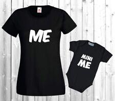 Partner T-Shirts Mutter Kind Sohn Tochter Body Strampler Geburt Geschenk Spruch