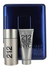 212 NYC by Carolina Herrera for Men SET: EDT Spray 3.4oz+SG 3.4oz New