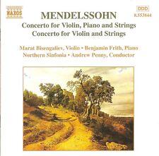 Mendelssohn - Concertos for Violin, Piano & Strings and for Violin & Strings