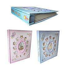 Photo Album My First Year Baby New Born Frame Set Gift Album Babies Memorial