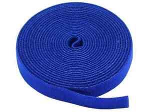 Hook and Loop Fastening Tape, 5 yards/roll, 0.75 in, BLUE  5830