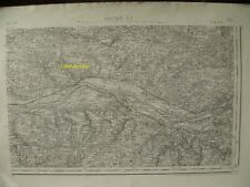 Carte d'État-Major Ancenis Sud-Est 1894