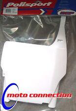 Polisport Delantero Número De Matrícula Board Blanco-Honda CRF CRF250 CRF450 04-07