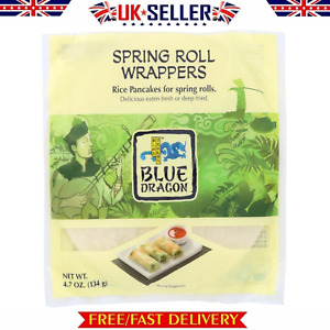 Blue Dragon Vietnamese Spring Roll Wrappers [134g] Rice pancakes for spring roll