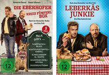 6 DVDs * EBERHOFER - 6 FILME SET (KRUZIFÜNFERL BOX + LEBERKÄSJUNKIE) # NEU OVP %