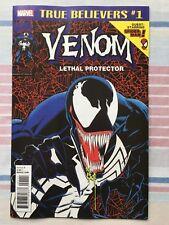 Venom Lethal Protector #1 True Believers Variant • NM • 1st Print • Marvel