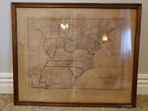 1816 Map of the United States of America - M. Lloyd