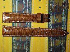 NEW OEM Authentic BREGUET strap genuine alligator 21 mm  UVP - 1100$ light-brown