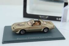 NEO Pontiac Firebird Trans Am Gold 1:87 Scale HO