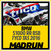 Kit Adesivi BMW Tas Tyco S1000RR BSB 2016 - High Quality Decals