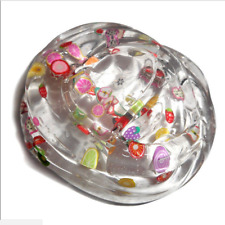 Clear Slime Fruit Salad Crystal Mud Putty Squishy Educational Toy Kids Gift 60ml