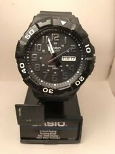 Casio Men's MRW210H-1APB Quartz 'Diver Style' Rotating Bezel Black 50mm Watch-HA