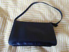 NEXT Black Leather Shoulder Bag